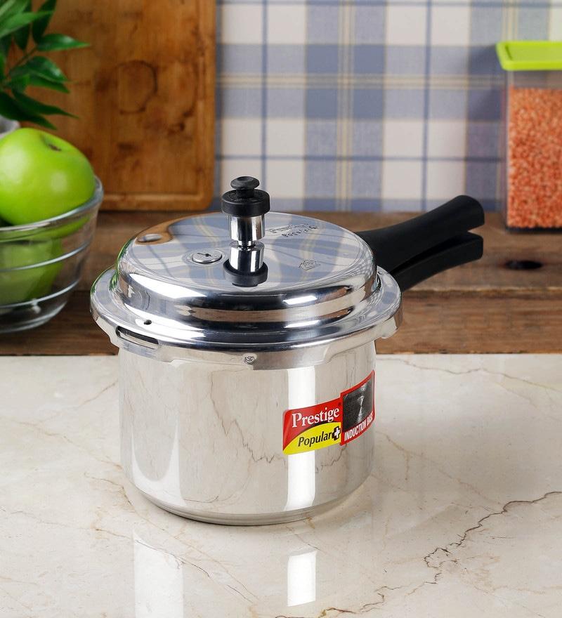 141640cffc2 Buy Prestige Popular PLUS Aluminium 3 L Pressure Cooker Online ...