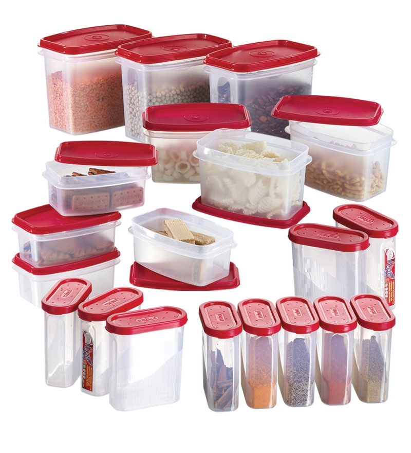 kitchen storage containers buy online buy prime houseware airtight containers set of 20 8617