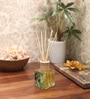 Jasmine Noir Reed Diffuser Bottle with 10 Rattan Reed Sticks by Premsons