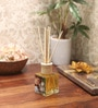 Lemon Grass Reed Diffuser Bottle with 10 Rattan Reed Sticks by Premsons
