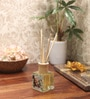 Mogra Reed Diffuser Bottle with 10 Rattan Reed Sticks by Premsons