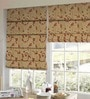 Presto Multicolour Polyester Floral Window Blind