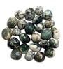 Prisha Black & White Stones Dalme Good Decorative Pebbles - 2 Kg