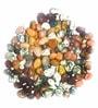 Multicolour Stones Mini Mix Pebbles - 0.5 Kg by Prisha