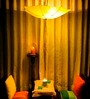 Umberella yellow Pendant by Untold Homes