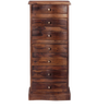 Glendale Chest of Seven Drawers in Provincial Teak Finish by Woodsworth