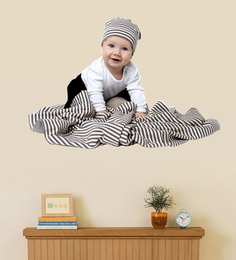 PVC Vinyl Playing Baby Wall Sticker