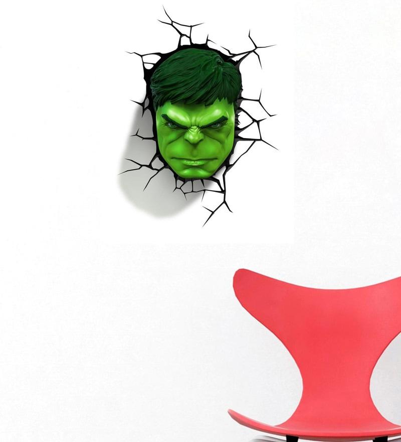 buy pvc vinyl super hero 3d hulk wall stickerwall attraction