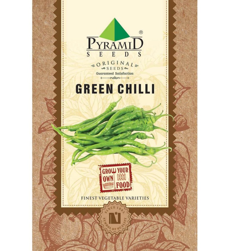 Green Chilli Seeds by Pyramid Seeds