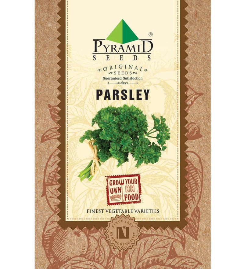 Parsley Seeds by Pyramid Seeds