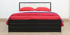 Shanghai Queen Size Bed with Lifton Storage