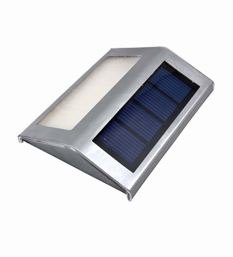 Solar Garden Staircase LED Stainless Steel Solar Light by Quace