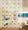 White Acrylic Branch Room Divider by Planet Decor