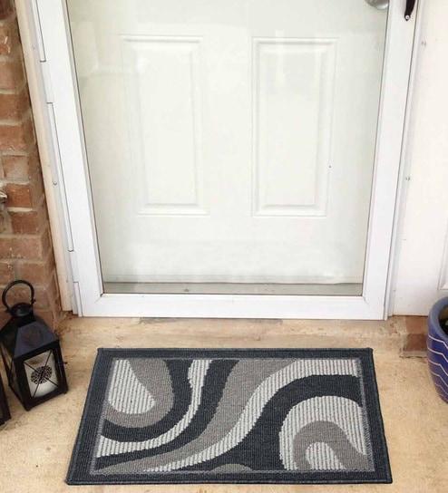 Buy Multicolour Nylon 24 X 16 Inch Door Mat By R Home Online
