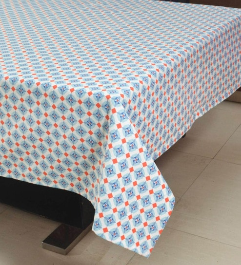 558d9b46ff4 Buy Cotton Multicolour Table Cover Online - Ethnic Table Cloths - Dining    Bar - Dining   Bar - Pepperfry Product