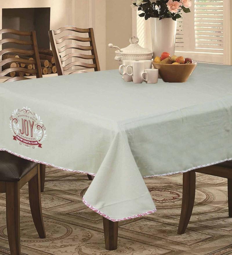 R Home Beige Cotton Table Linen