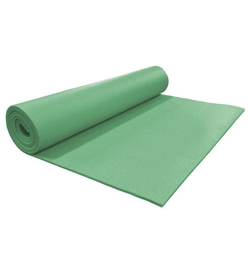 Buy R Home Dark Green PVC 68 X 24 Inch Yoga Mat Online