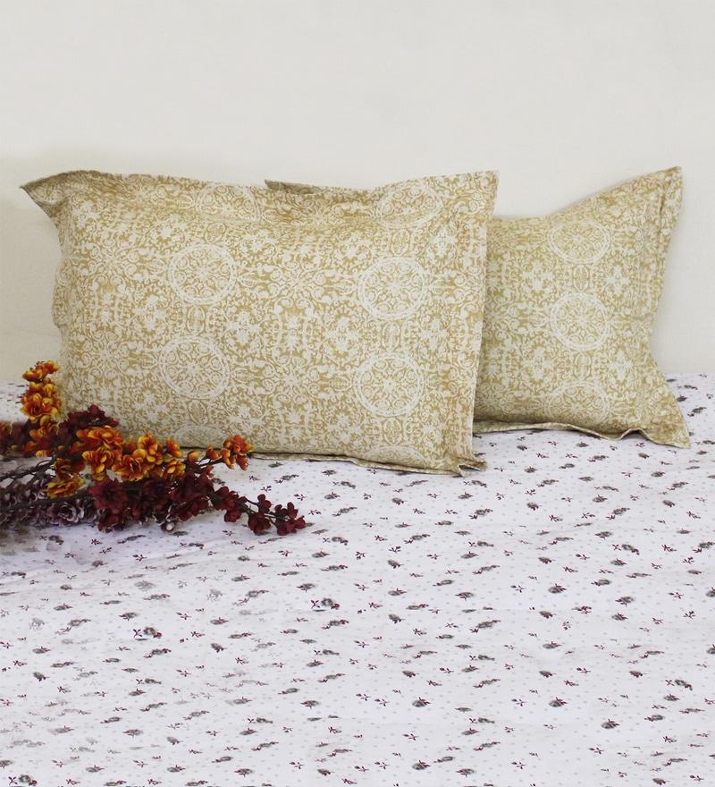 R Home Multicolour Cotton 20 x 26 Pillow Cover - Set of 2