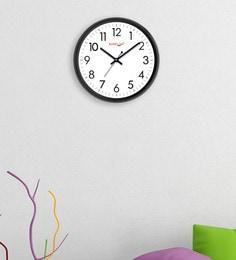 Random Black Plastic 12 X 2 X 12 Inch Cool Wall Clock