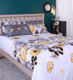 Raymond Home Multicolour 100% Cotton King Size Bedsheet - Set Of 5