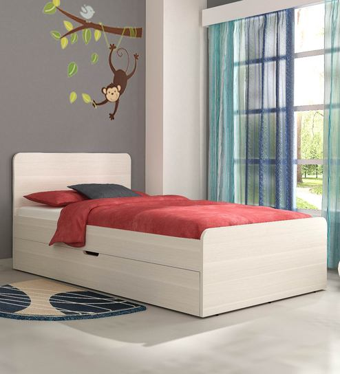 Kids Double Bed With Pull Out Trundle