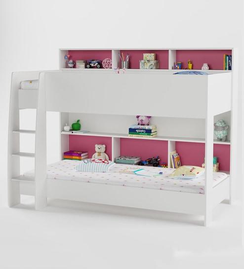 Swell Rainbow Bunk Bed In Pink By Boingg Frankydiablos Diy Chair Ideas Frankydiabloscom