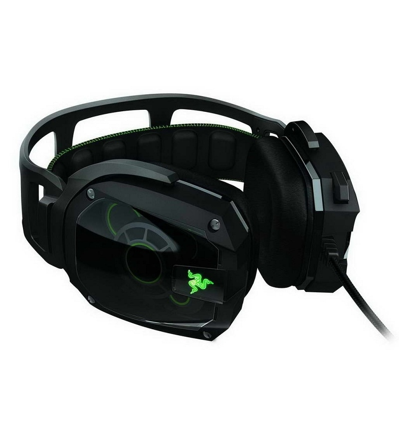 Buy Razer Tiamat 7 1 Elite 7 1 Surround Analog Gaming Headset With Free Razer Omega Mouse Pad Online Headset Gaming Accessories Hobbies Pepperfry Product