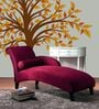 Raedan Chaise in Red Colour by Madesos