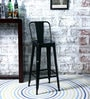 Raglan Bar Chair in Black Colour by Bohemiana