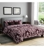Brown Poly Cotton Queen Size Bedsheet - Set of 3 by Rago