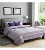 Grey Poly Cotton Queen Size Bedsheet - Set of 3 by Rago
