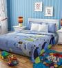 Rago Kids Abstract Double Bed Sheet Set with 2 Pillow Covers