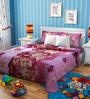 Rago Kids Barbie Single Bedsheet with 1 Pillow Case
