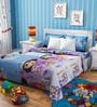 Rago Kids Dora The Explorer Double Bedsheet with 2 Pillow Covers