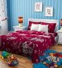 Rago Kids Mickey & Minnie Christmas Single Bedsheet with 1 Pillow Case