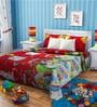 Rago Kids Minnie & Daffy Duck Single Bedsheet with 1 Pillow Case