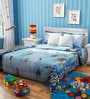 Rago Kids Planes Single Bedsheet in Blue & White with 1 Pillow Case