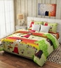 Rago Kids Pop Cotton Chota Bheem Double Bedsheet with Pillow Covers