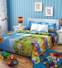 Rago Pooh Poly Cotton Double Bedsheet with 2 Pillow Covers