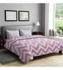 Pink Cotton Queen Size Bedsheet - Set of 3 by Rago