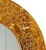 Rainforest Italy Transparent Glass Crackle Mirror
