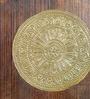 Rajrang Brown & Gold Wooden Vintage Pattern Polished Key Holder