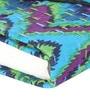 Rajrang Blue Paper & Cotton Classic Chevron Diary