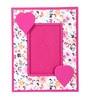 Rajrang Pink Paper 8 x 10 Inch Stylish Single Photo Frame