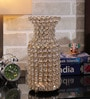 Rajrang Gold Glass, Crystal & Metal Flower Vase