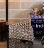 Rajrang Silver Glass, Crystal & Metal Designer Hand Made Candle Holder
