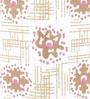 Rajrang White & Brown Cardboard & Handmade Paper Floral Printed Pen Holder