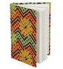 Rajrang Brown Paper Horizontal Zig-Zag Design Diary
