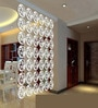 White Acrylic Flower & Leaves Room Divider by Planet Decor