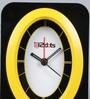 Random Black & Yellow Plastic 4 x 2 x 5.5 Inch Alarm Clock